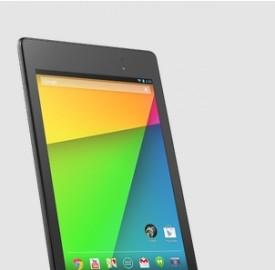 Il tablet Google Nexus 7.2 è disponibili sul Play Store