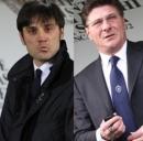 I due allenatori di Inter e Fiorentina