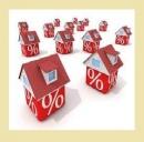 Volume di erogazione mutui in forte calo in Lazio e Toscana