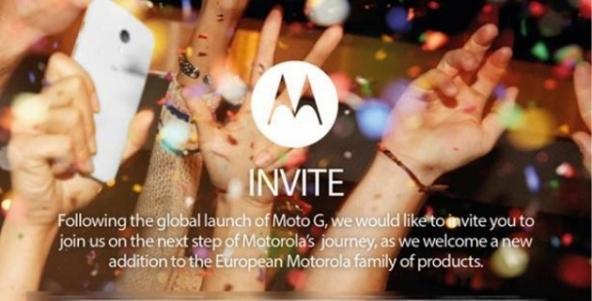 Invito da Parte di Motorola