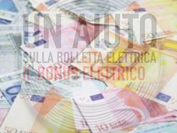 Bonus energia elettrica fino a 156 euro