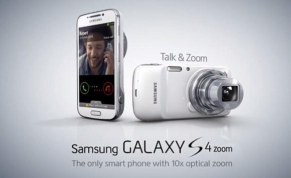 Galaxy S4 Zoom, smartphone e macchina fotografica