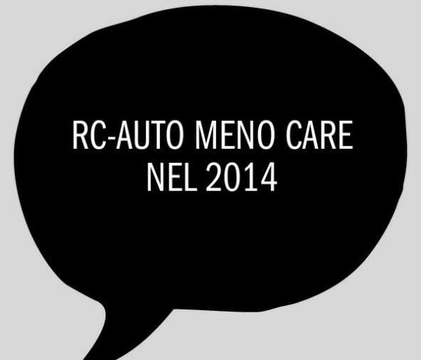 Rc auto: come pagare di meno nel 2014