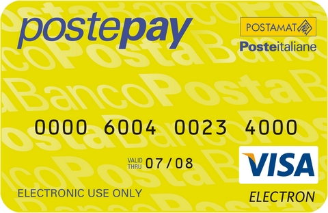 Postepay Visa concorso 'Vola in rete'