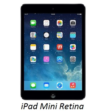 Il tablet di Apple, il Mini iPad Retina, confrontato con il Galaxy Tab Pro 8.4 di Samsung.