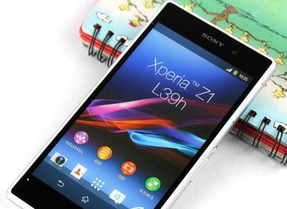 Nell'immagine il Sony Xperia Z1