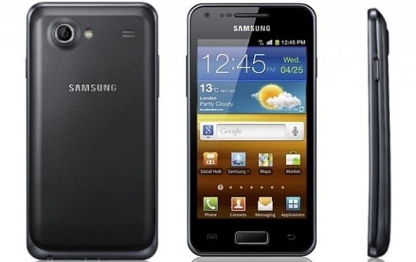 Nella foto il Samsung Galaxy S advance