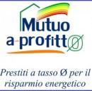 Prestiti agevolati a tasso zero per ristrutturare casa con finalità di risparmio energetico: Mutuo A Profitto, iniziativa della Provincia di Milano.