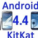 Aggiornamento Samsung Galaxy S3 e Note 2: Android 4.4 KitKat in arrivo a fine marzo