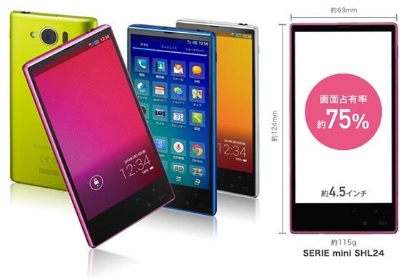 Sharp Aquos SHL24 Mini: ottimo cellulare