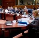 Una riunione del Consiglio UE