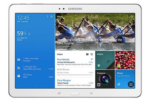 Il nuovo Galaxy Tab PRO di Samsung