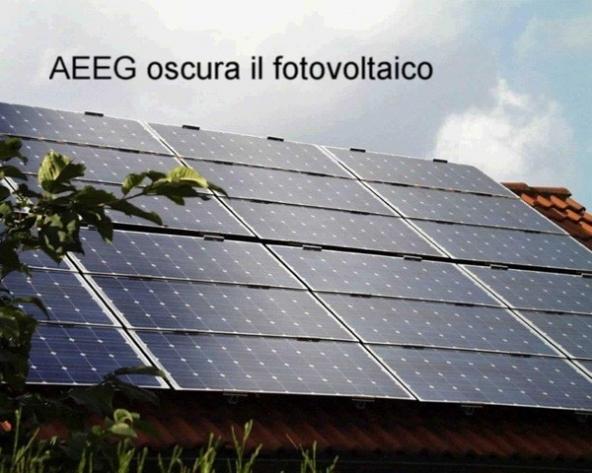 rischio per il fotovoltaico