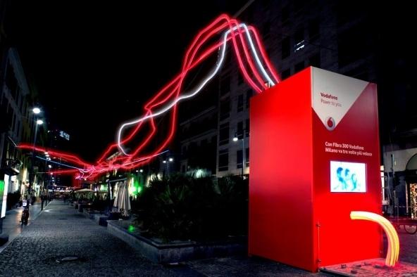 La fibra ottica di Vodafone a Milano