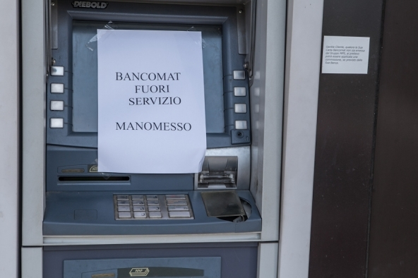 Bancomat e carte di credito rischio sicurezza