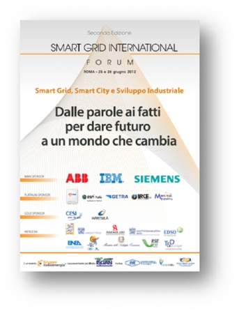 Smart Grid International Forum, oggi a Roma