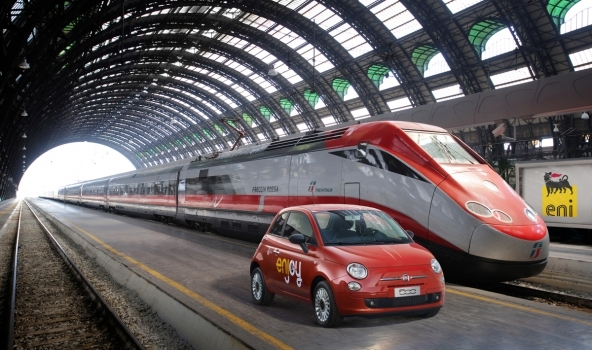 Anche a Roma arriva il car sharing con Enjoy