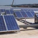 L'energia rinnovabile prodotta dai pannelli solari