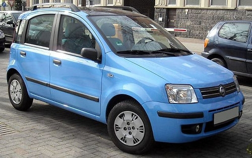 Auto rubate: Fiat Panda in testa alla classifica