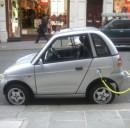 Le auto elettriche rinfrescano la città