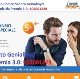 Scopri i dettagli della promozione Genialloyd per ricevere un buono shopping fino a 250€.