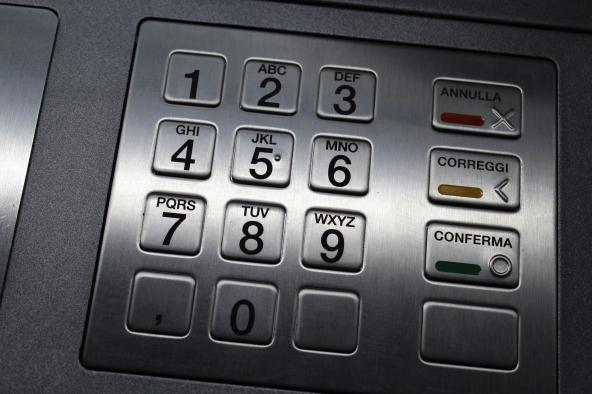 Sportello automatico bancomat