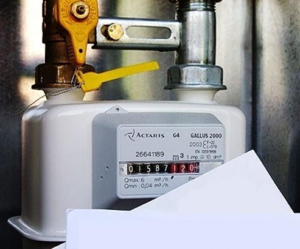 Allacciamento gas e contatore