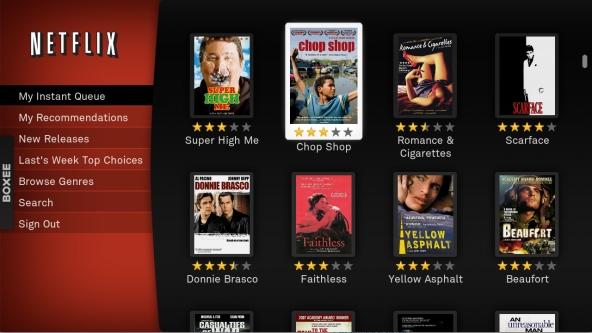 Catalogo online Netflix Usa