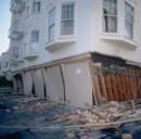 Casa distrutta dal terremoto
