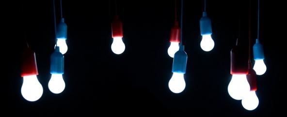Con le lampade LED risparmi fino a 10 volte di più