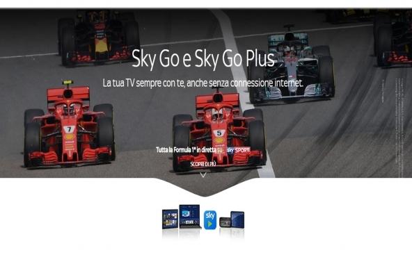 Sky Go e Sky Go Plus di Sky