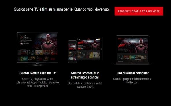 Come guardare Netflix su TV non smart