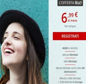 Tariffe Iliad Italia: costi e copertura internet mobile