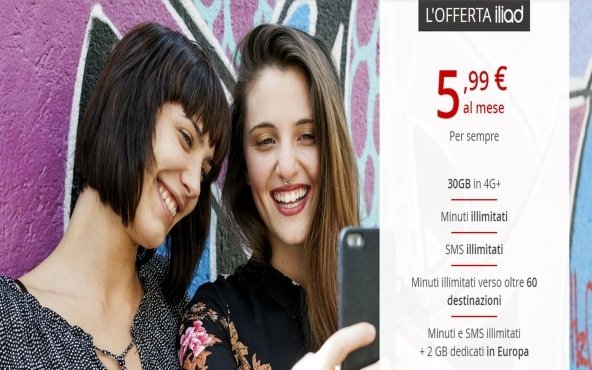Offerte Iliad internet mobile