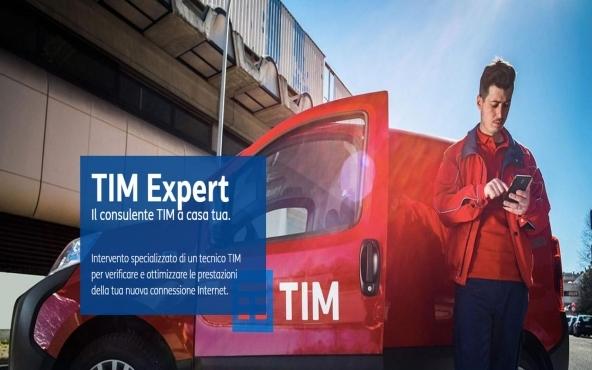 Servizio di attivazione internet TIM Expert