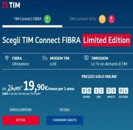 Promo TIM fisso: sconto in bolletta con attivazione online