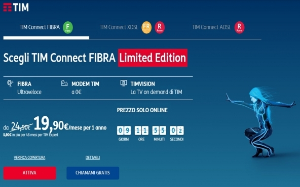 Offerte TIM Connect Limited Edition